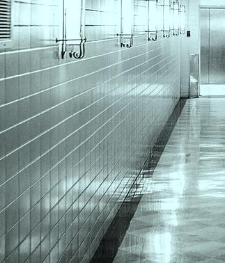 pasillo azulejos