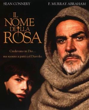 Cartel Nombre de la rosa
